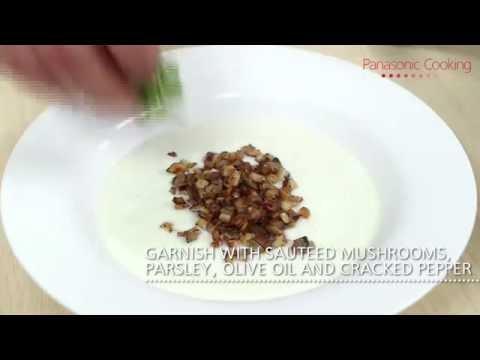 Healthy Cream of mushroom soup (no heavy cream, no butter)