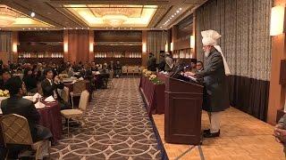 Recepción especial en honor del Jalifa del Islam en Tokio