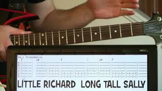 Little Richard Long Tall Sally Guitar Chords Lesson & Tab Tutorial