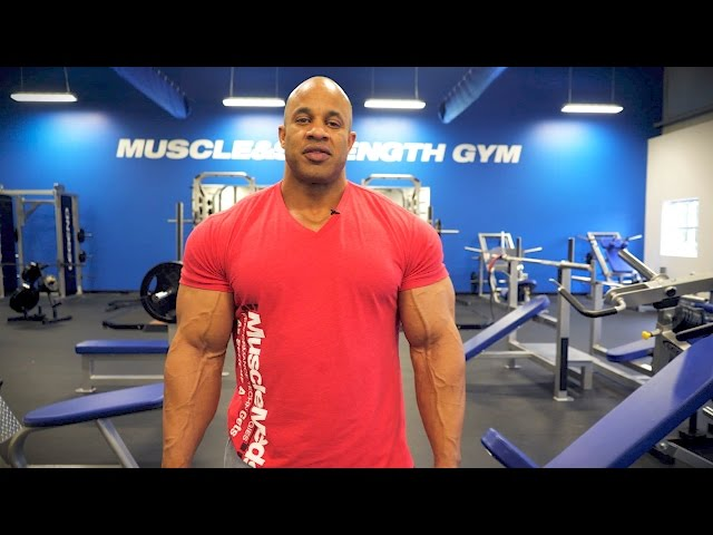 Pro Bodybuilder Victor Martinezs Chest Training Tips