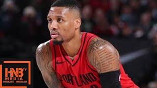 Washington Wizards vs Portland Trail Blazers 1st Half Highlights / Week 8 / Dec 5