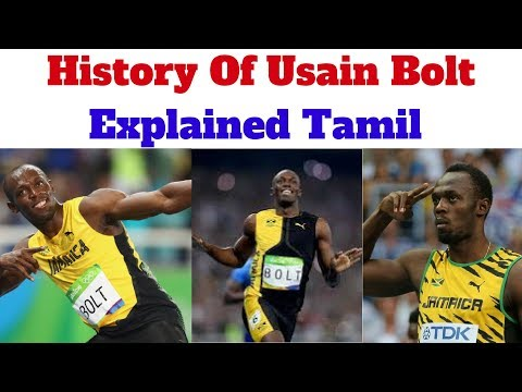 Life Story | History Of Usain Bolt - Explained Tamil.
