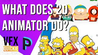 What Is A 2D ANIMATOR / ANIMATION ARTIST in Animation ? - ANIMATION QUICKIE [HINDI]