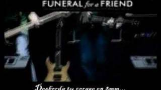 Funeral For A Friend - She Drove Me To Daytime Television - Español