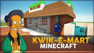 Minecraft: Construindo o Mercado do Apu/Kwik-E-Mart (Simpsons)