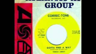 Theresa Lindsey - GOTTA FIND A WAY  (1963)