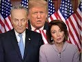 Trump Addresses the Nation from Oval Office & Pelosi, Schumer respond to Trump's speech