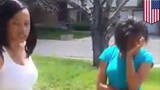 Wściekła matka publicznie poniża córkę za zamieszczenie wyzywających zdjęć na facebooku