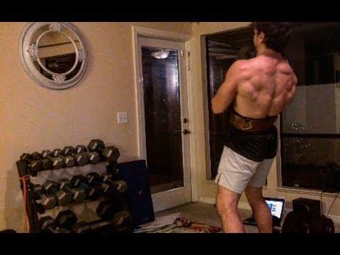 Hoisting 125+ lbs above my head