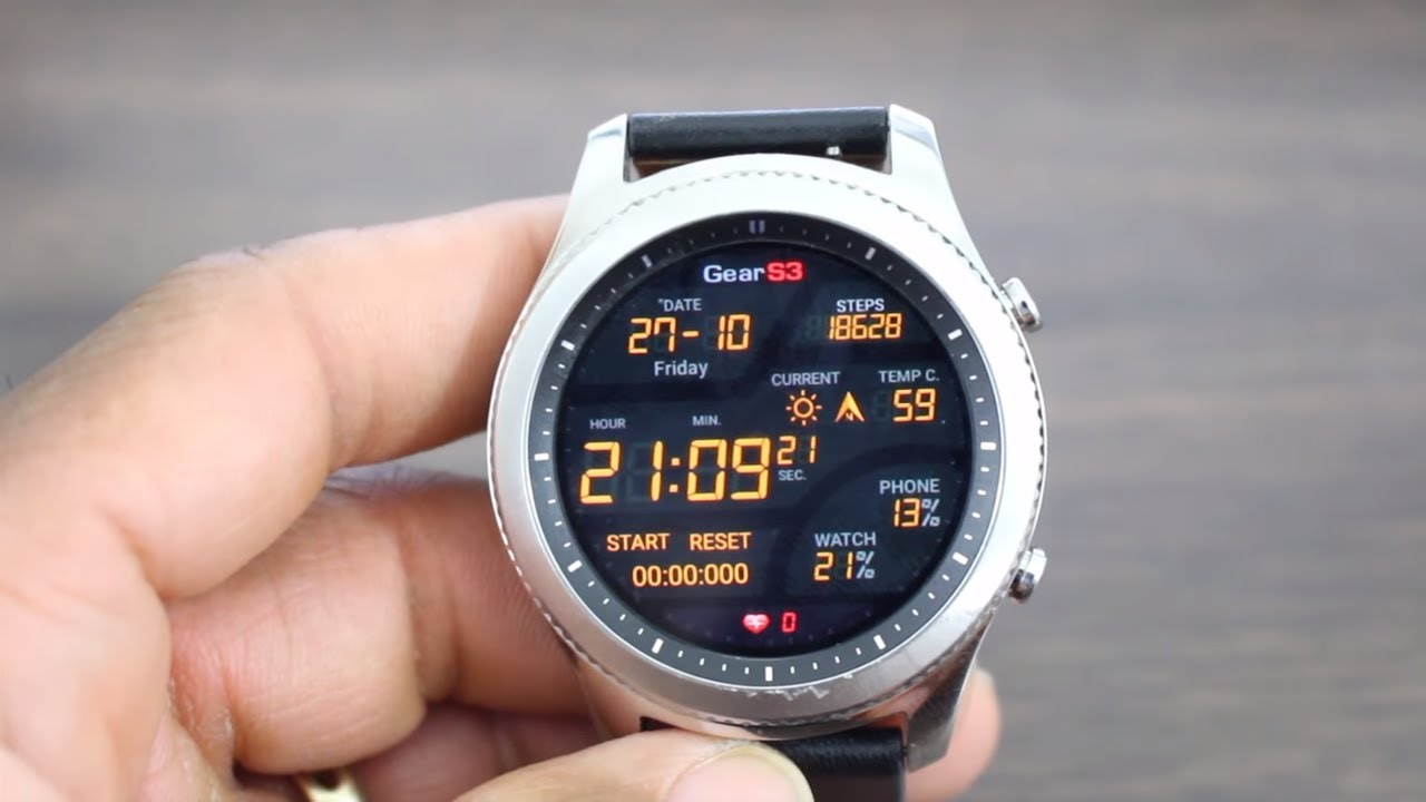 Top 3 Gear S3 Watch Faces 2017 A Must Download