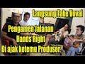 Pengamen Jalanan Hands Right Bersuara Emas Ketemu Produser Pay Bip Langsung Take Vocal  Mp3 - Mp4 Download