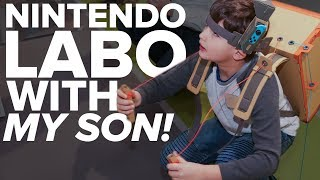 Nintendo Labo won me and my kid over