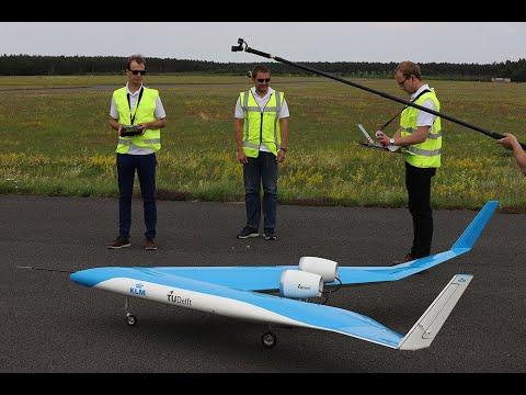 Flying-V - Scale model maiden flight