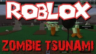 Team SBG Plays Roblox: Zombie Tsunami! (Family Multiplayer)