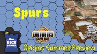 Origins Summer Preview: Spurs: a Tale in the Old West
