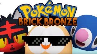 Pokemon Brick Bronze - Pokemon Fan Game Showcase ( Roblox Pokemon )