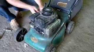 Briggs&Stratton 450 небольшой ремонт