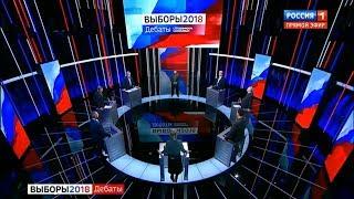 Дебаты у Владимира Соловьева от 13.03.2018 Выборы-2018 (День шестой)