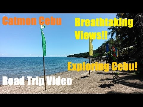 Danao City To Catmon Cebu: Road Trip Video