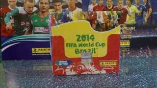 PANINI FIFA WORLD CUP BRAZIL 2014 BOX