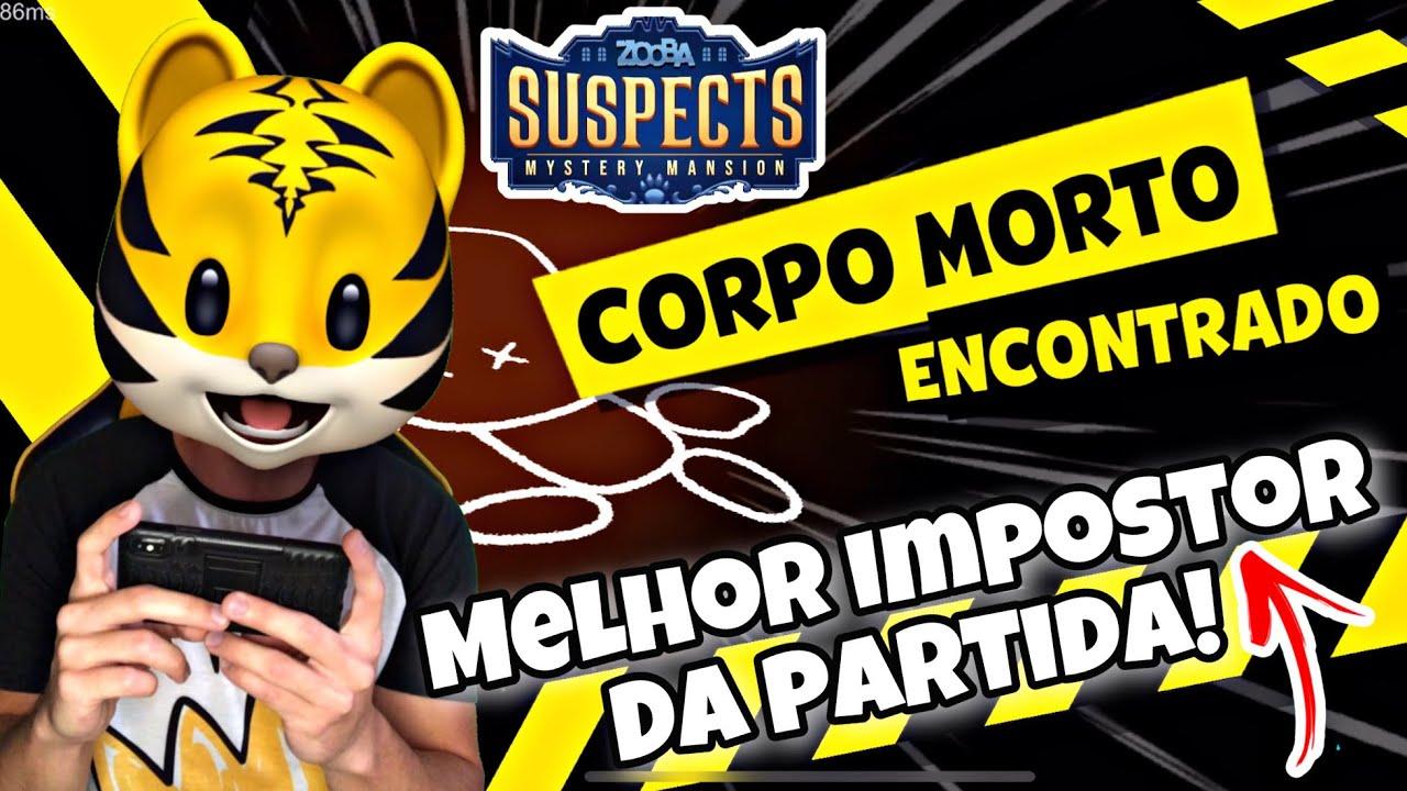 SUSPECTS MANSÃO MISTÉRIO FUI O IMPOSTOR E VENCI! PETER TOYS