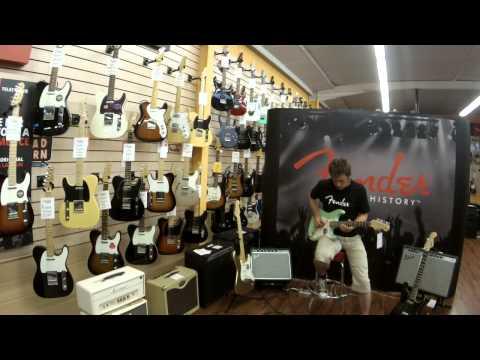 Azema Musique Fender Day Brice Delage démo Fender Jeff Beck