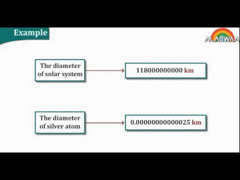 Scientific notation of the rational number