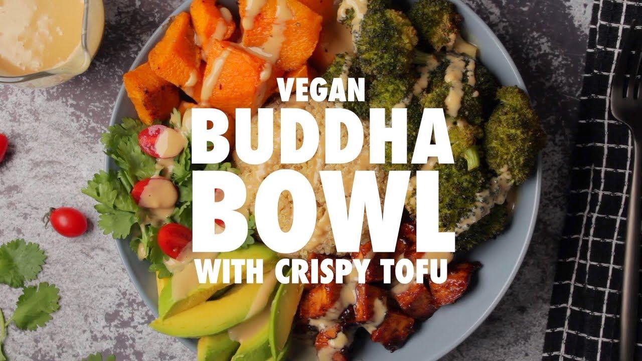 Vegan Buddha Bowl With Crispy Tofu   Loving It Vegan
