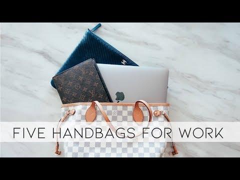 FIVE HANDBAG STYLES FOR WORK