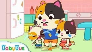 ★NEW★小貓咪都哭了!笨笨的貓咪爸爸照顧小貓咪+更多合集 | 兒歌 | 童謠 | 動畫 | 卡通 | 寶寶巴士 | 奇奇 | 妙妙