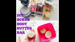Diy Scrub Body Butter Bar
