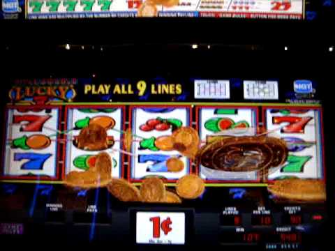 COUPLE GOOD WINS WITH DOUBLE LUCKY SEVEN'S SLOTS AT COSMOPOLITAIN CASINO