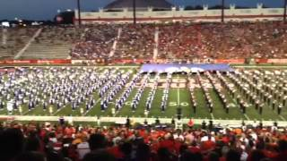 Amazing grace tribute with NSU ULL combined bands