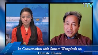 """""""Planet does not need your money, but your behavior change"""": Mr. Sonam Wangchuk on Climate Change"""
