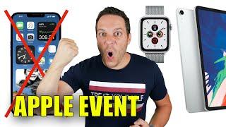 PAS d'IPHONE 12 ? Juste Apple Watch 6 et iPad Air 4 ? - Apple Event 15 septembre