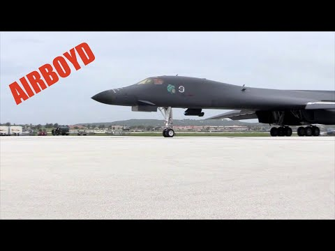 B-1, B-2 And B-52 Joint Operations Anderson AFB