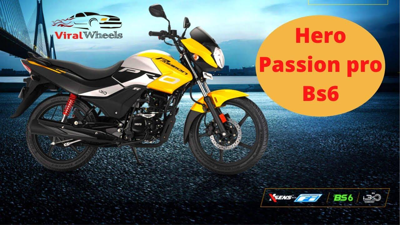హీరో ప్యాషన్ ప్రో BS6 2020 న్యూ మోడల్ రివ్యూ || Hero Passion Pro BS6 2020 model review in Telugu