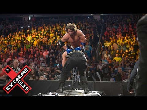 AJ Styles vs. Roman Reigns - Extreme Rules Match: WWE Extreme Rules 2016  on WWE Network thumbnail