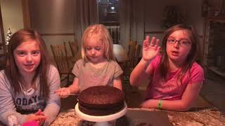 How to Make a Two Layered Cake by the Super Sisters