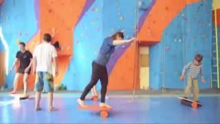 Тренировка сноубордистов на баланс борде(, 2016-07-31T18:02:19.000Z)