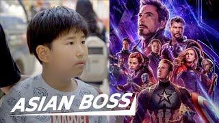 Koreans React to 'Avengers: Endgame'    ASIAN BOSS