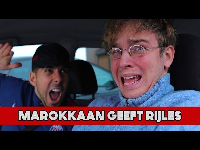 GELD TERUGKRIJGEN! - Marokkaan Geeft Rijles (Aflevering 9 Seizoen 4) | Mertabi Sketch
