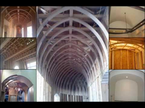 Barrel Vault Ceiling Pictures - YouTube