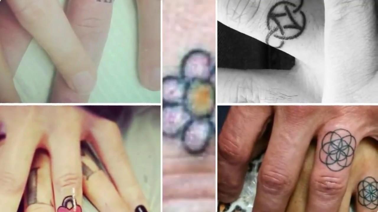 Increíbles Tatuajes De Anillos Para Pareja Youtube