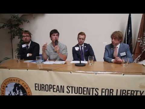 Student Activism Panel @ European Students for Liberty Prague