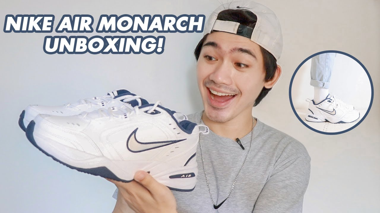 30% OFF NIKE AIR MONARCH UNBOXING & ON-FEET | WE DUET