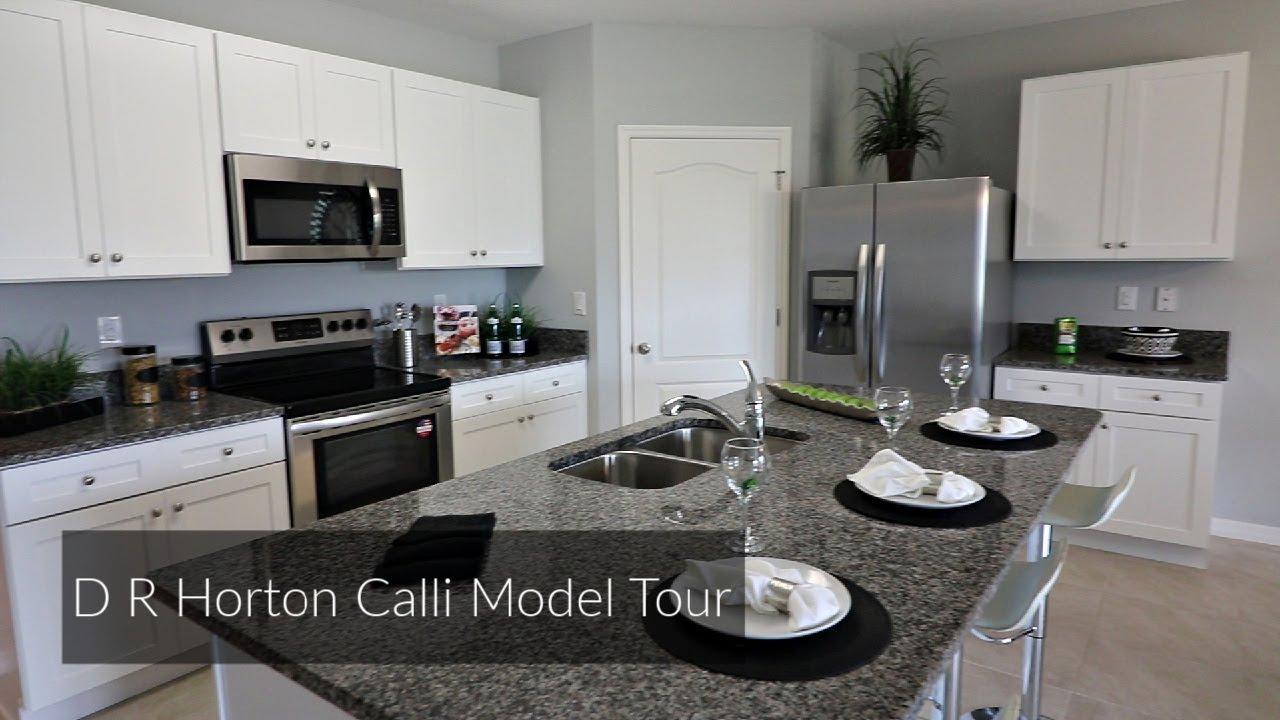 D R Horton Cali Model Home Tour Youtube