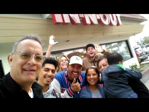 Tom Hanks Pays for Customers' Food at In-N-Out Burger