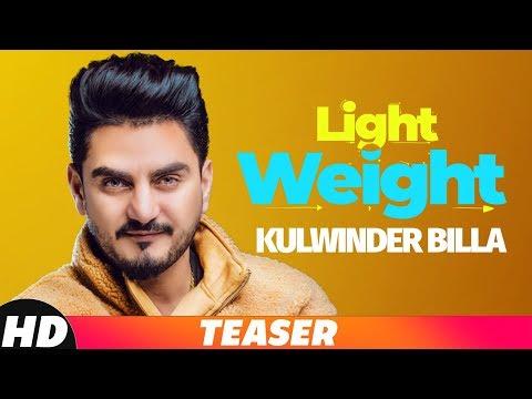 Teaser | Light Weight | Kulwinder Billa | Releasing On 25 Oct 2018 | Speed Records