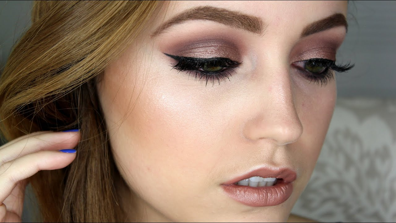 Taupe Amp Purple Makeup Tutorial YouTube